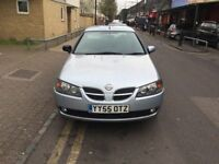 NISSAN ALMERA 1.5 SX, MANUAL, LONG MOT, 2 KEYS, 87K, CHEAP