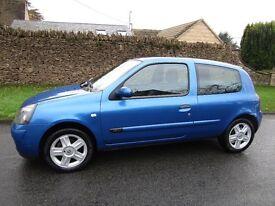 Renault Clio Campus 1.2 petrol £2,250