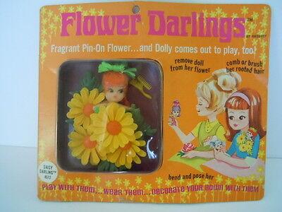 Wonderful RARE Hasbro Flower Darlings DAISY DARLING # 8572 Complicated CARD MUST SEE LIST 2