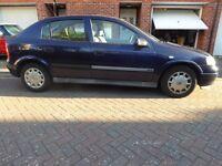 Vauxhall Astra Club 1.6, Long MOT, Low Mileage