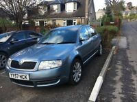 SKODA SUPERB 6 months Mot cam belt changed, 5 years Yussaka new battery just fitted