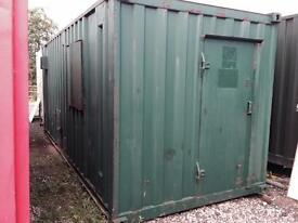 20' x 8' Canteen/drying Room/Chemical Toilet
