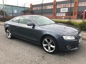 ***AUDI A5 2.0 AUTOMATIC SPORT COUPE FULL HISTORY+FULL LEATHERS+ALLOYS+PARKING SENSORS***£6490!