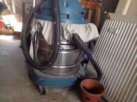 Erbauer industrial hoover vacuum cleaner heavy duty n mixer tap basin. Used