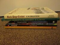 Collection of 6 Sport Books Cricket Rowing Gymnastics Volleyball Skating Lot