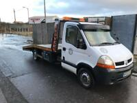 Renault Master 2.5 DCI Recovery Truck 3.5T