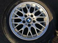 "17"" BMW Alloys with Tyres"