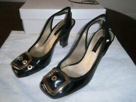 Nine West Black Court shoes