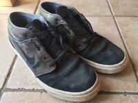 Nike SB Stefan Janoski Mid Camo UK 7 Skate Shoes