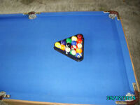 SNOOKER TABLE fold up