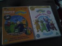 2 x Teletubbies DVD's for sale.
