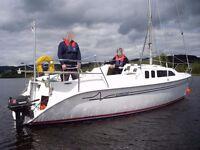 24 foot Trailer Sailer yacht