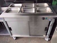 BAIN MARIE KITCHEN CATERING + HOT COMMERCIAL FASTFOOD CUPBOARD CAFE SHOP TAKEAWAY DINER RESTAURANT