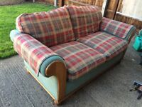 2 seater sofa bed, good condition
