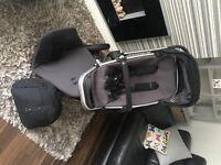 quinny buzz 3, pram/stroller.... black... baby/toddler