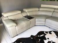Grey coner sofa