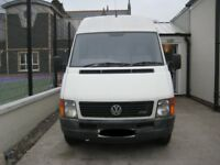 Volkswagen LT 35 converted camper van.