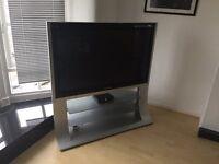 50 inch Panasonic Viera Plasma Tv with curved stand