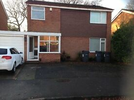 DETACHED HOUSE WITH GARAGE, 3 BEDROOMS, IN QUIET CUL DE SAC, HALL GREEN, VERY SOUGHT AFTER.