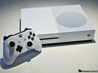 Xbox One S 1TB White ,2 Controllers & 2 Games
