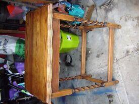 Antique Barley Twist Leg table
