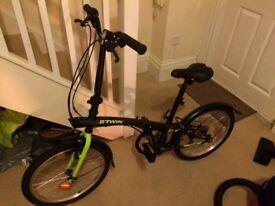 BT Twin fold up bike