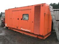 GENERATOR SET 500 KVA, STAMFORD / PERKINS 2002, EXCELLENT RUNNING AND ALL IN 100% GOOD WORKING ORDER
