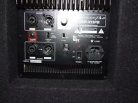DJ/SINGER/BAND Active PA system Peavey/Wharfedale £350 ono