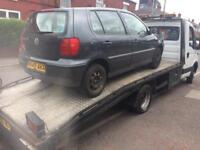 Scrap Cars Wanted? £50-£500!