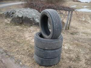 Four 205-55-16 tires $140.00