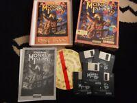 rare ibm monkey island 2 game big box rare complete