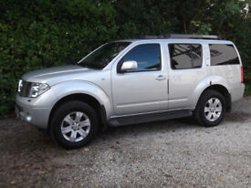 2006 56 NISSAN PATHERFINDER 2.5 DCI AVENTURA MANUAL 1 FORMER KEEPER - OWNER SINCE 2 MONTHS OLD