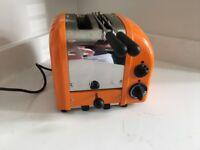 Dualit 2 Slot Classic Toaster in Orange