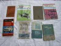 CLASSIC VINTAGE CAR BOOKS