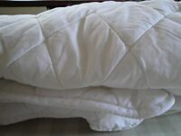 John Lewis single fitted waterproof mattress cover