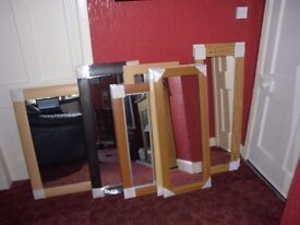 QUALITY MIRRORS - FINAL CLEARANCE