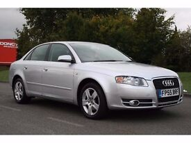 2005 AUDI A4 SALOON 2.0 TDI AUTOMATIC DIESEL, LOW MILEAGE, IMMACULATE, PX WELCOME