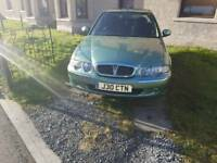 Rover 45 immaculate in green automatic