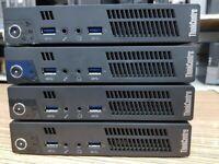 Lenovo Thinkcentre M92p Tiny PC i5-3470T 4GB RAM 320 GB HDD or 128 GB SSD BothWin 10 Pro