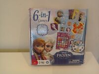6 in 1 Frozen Game Set