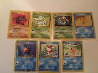 Pokemon cards - damaged