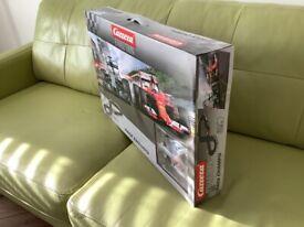 Carrera25219 race champs. Mercedes/Ferrari F1 Hamilton Vettel box set