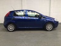 2009 FIAT PUNTO 1.4 ACTIVE 5dr *** LONG MOT ***