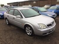54REG VAUXHALL VECTRA 1800 alloys mot cloth trim cheap runabout any trial welcome