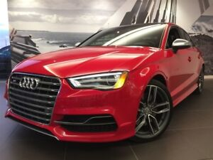 2015 Audi S3 TECHNIK 19'' MAGNETIC RIDE NAV CAMERA B&O