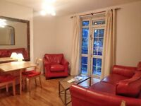 3 DBL BEDS IN QUIET, SAFE LOCATION. 1 min to Westferry DLR, 3 stops to Bank, 7 min walk Canary Wharf