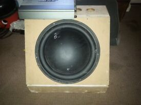 Sub and amplifier