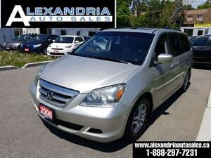 2006 Honda Odyssey EX-L leather sunroof safety included