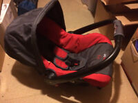 baby car seat Phil & Ted + buggy adaptor