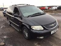 2001 CHRYSLER GRAND VOYAGER LIMITED AUTO GREY 7 SEATER
